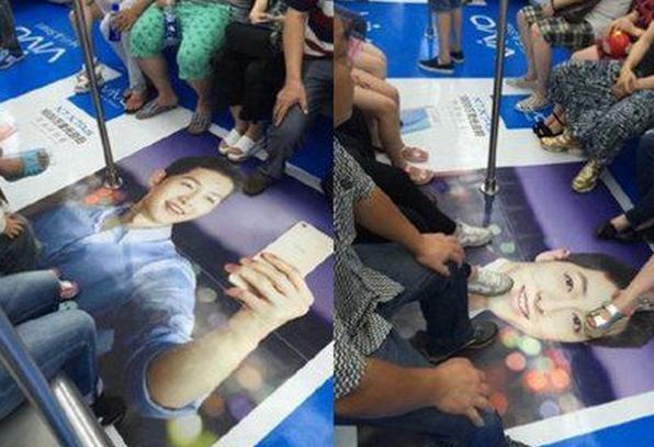 Foto Song Joong Ki di Injak-Injak, Fans Marah Besar