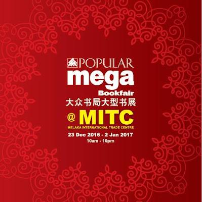 POPULAR Mega BookFair @ MITC, Melaka