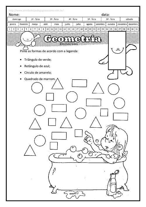 geometria, matemática, formas geométricas