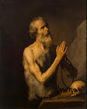 St Onuphrius by Jose de Ribera - Religious Paintings from Hermitage Museum
