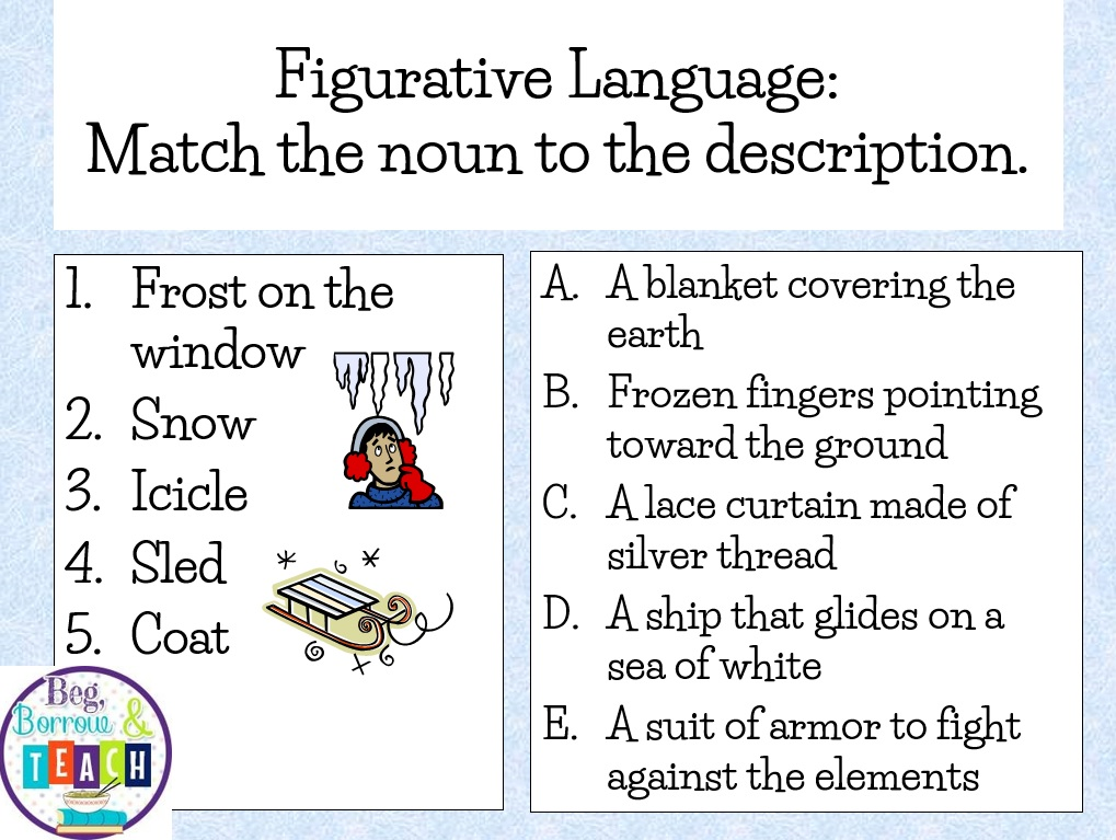 Poetry With Figurative Language Worksheets Teaching Resources ...