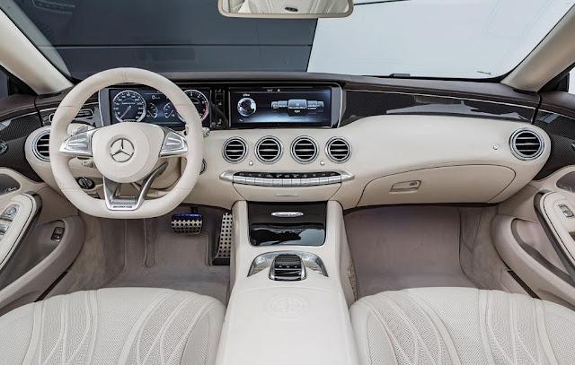 2017 Mercedes-AMG S65 Cabriolet Interior