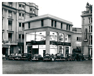 Car showroom at 39 Old Stein
