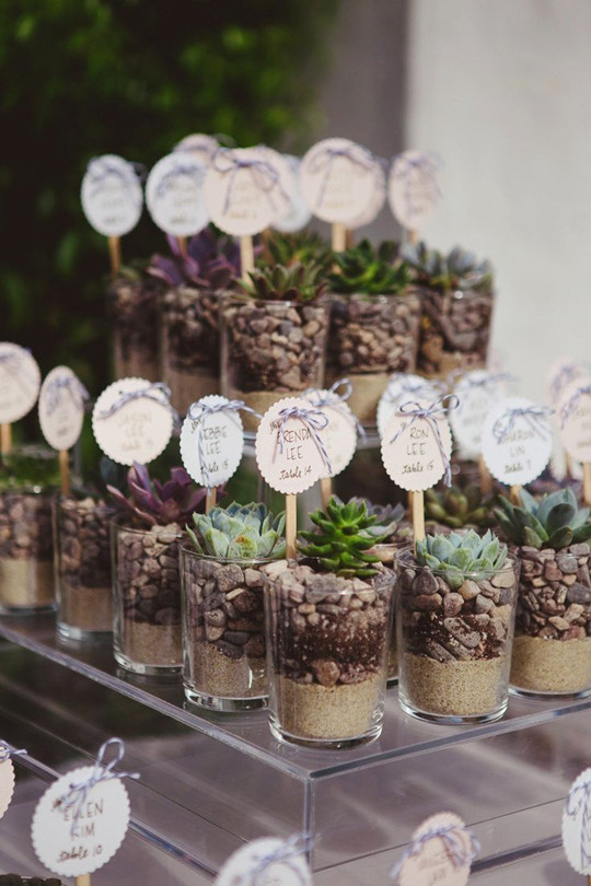 Mason Jars rustic Wedding Favours inspiration