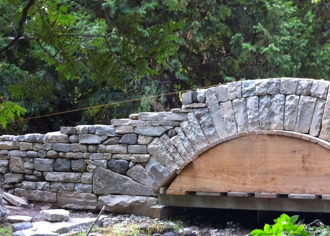 A Lot Of The Final Look Stone Bridge And How Satisfying Whole Structure Is Visually Determined By Pattern Building Stones That Form