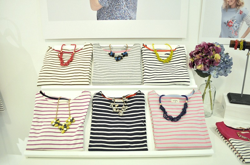 Joules striped tops autum winter 2015
