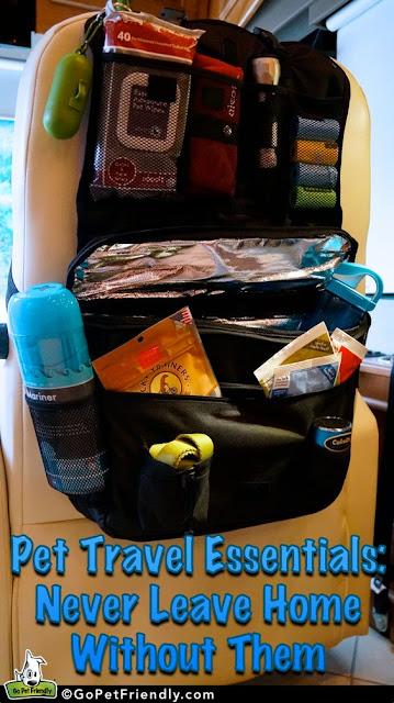 Travel pet organizer :: OrganizingMadeFun.com