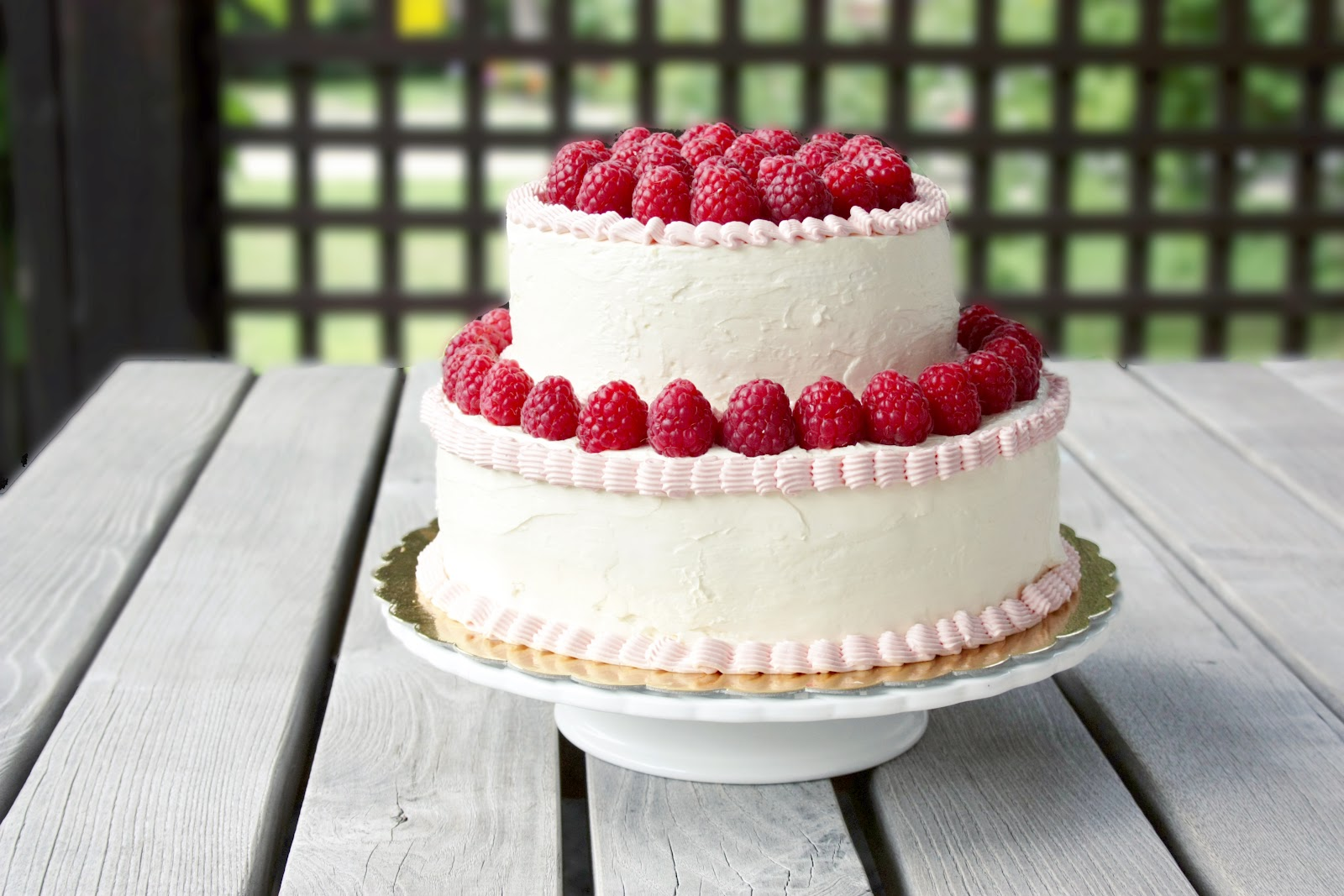 Everything Is Poetry Birthday Cake Swiss Meringue Buttercream