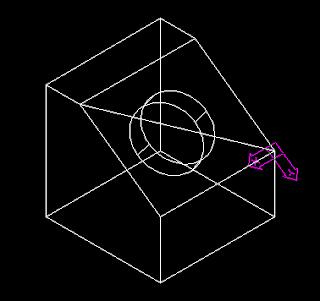 menggunakan UCS untuk mempermudah menggambar 3D