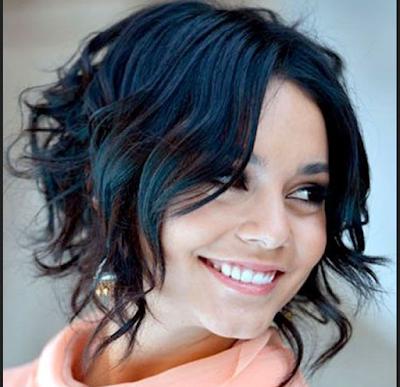Gaya rambut untuk wajah bulat dengan potongan asimetris
