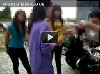 video kekerasan ABG bali