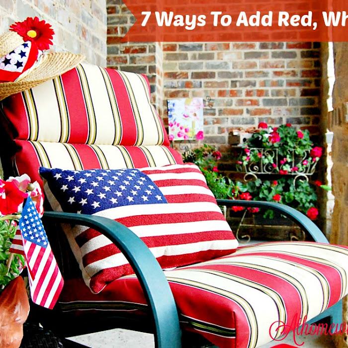7 Easy Ways to Add Americana Decor