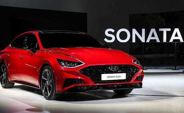 Hyundai presenta el nuevo Sonata Turbo 2020 en Seúl