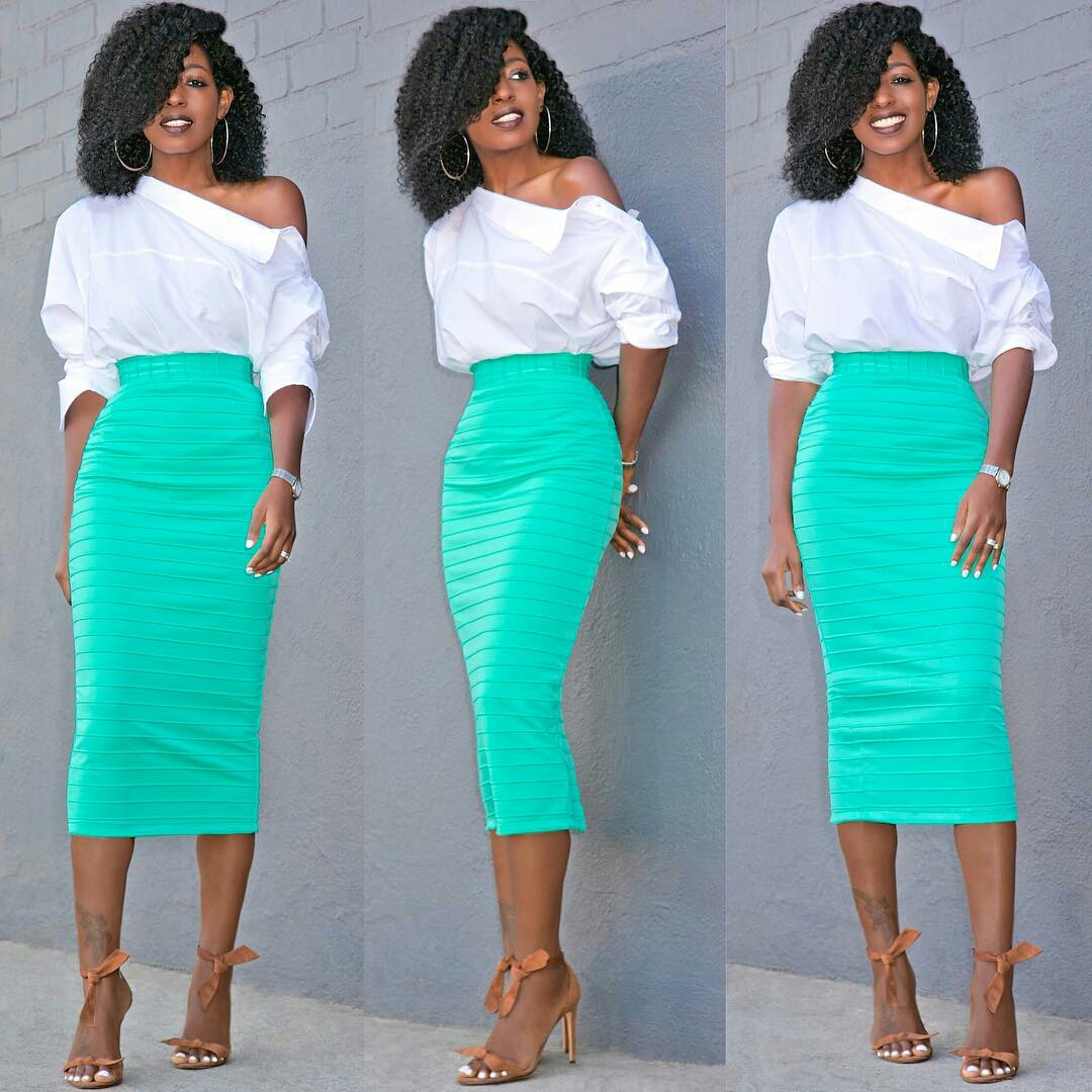 How To Wear Your Shirt Backwards with Folake Huntoon - FOLAPFASHION
