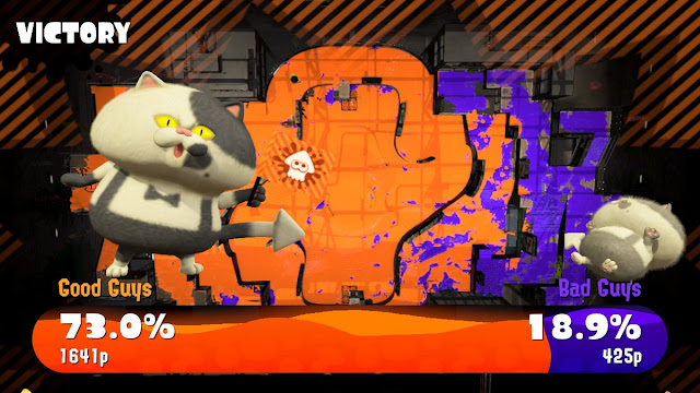 Splatoon shooter game review
