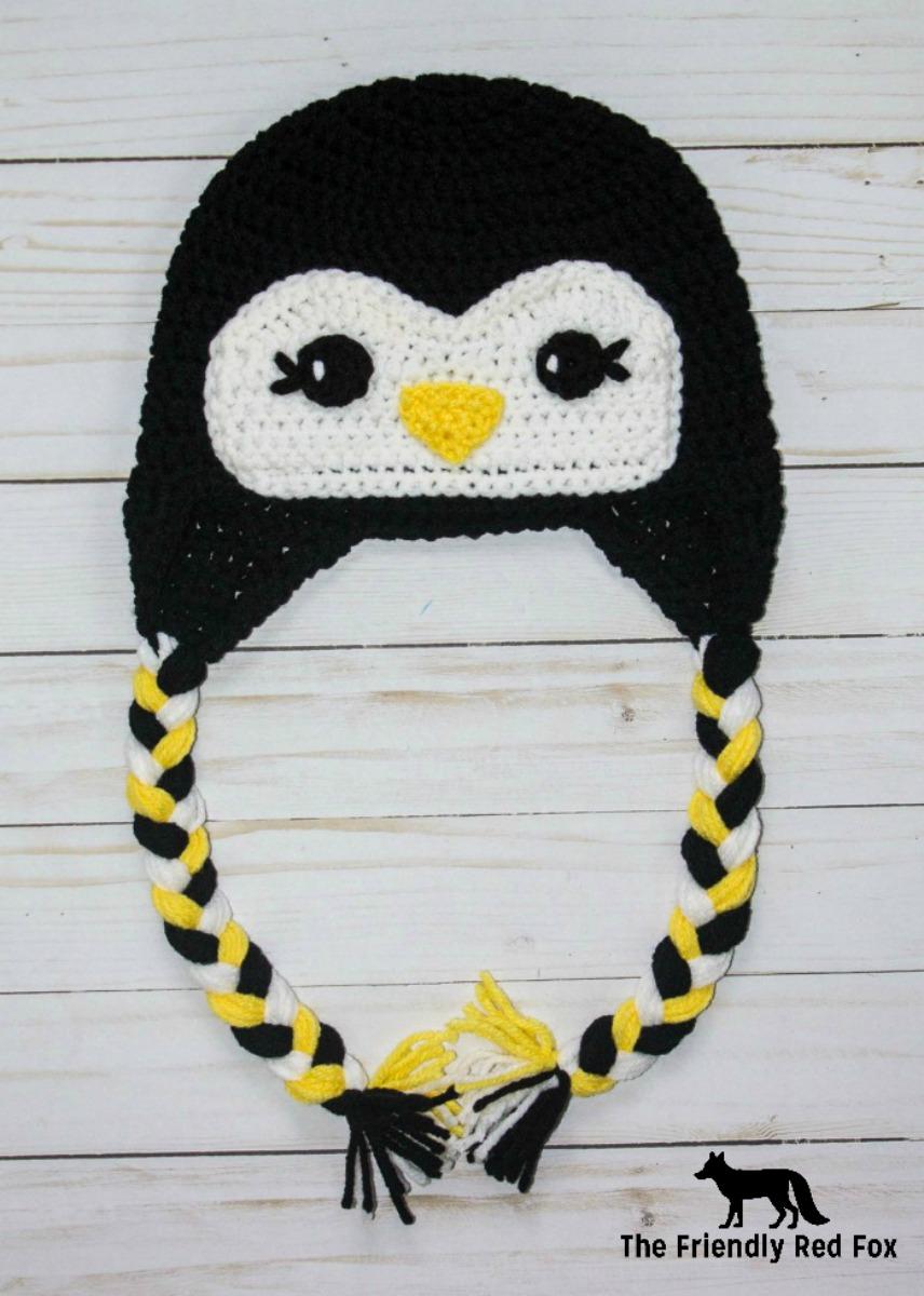 Free Crochet Hat Friendly Penguin Thefriendlyredfox