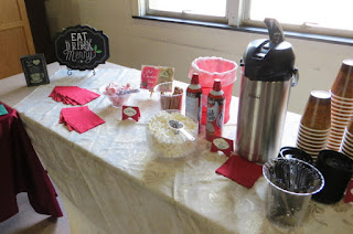 Hot Chocolate Bar presented by Mary Ellen Stites