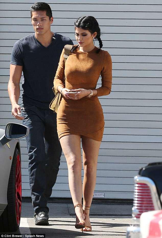 Kylie Jenner's bodyguard denies fathering Stormi
