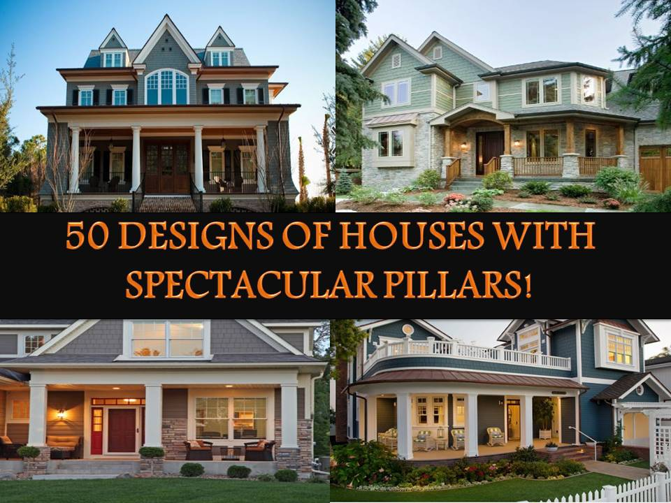 50 DESIGNS OF HOUSES WITH FRONT PILLARS - Bahay OFW