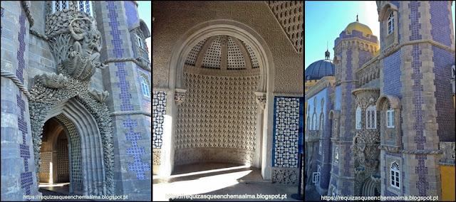 Pórtico do Trintão, Palácio da Pena