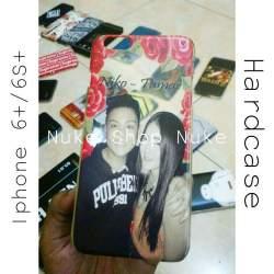 Hard case handphone Iphone 6+ atau 6s + desaign foto atau gambar sendiri