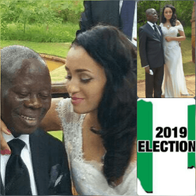 2019 election: Reno Omokri describes APC and PDP using Oshiomole and wife Iara