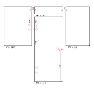 mittapiirros, puolilasiseinä, lasiseinä, Lasitehdas.com, lasitehdas, saunasuunnitelmat, harmaa lasiseinä