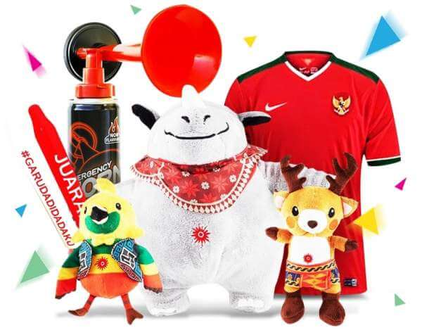 Beli Merchandise Asian Games