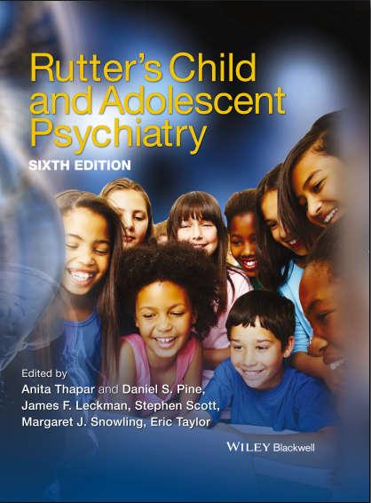 Rutters Child and Adolescent Psychiatry - 6E [PDF]