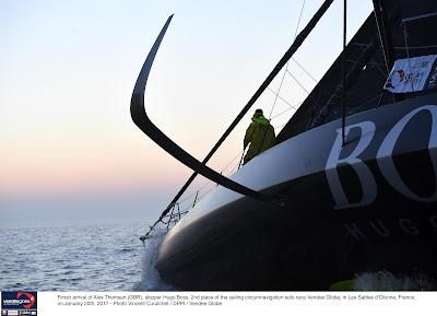 Construction d'un nouveau bateau pour Alex Thomson