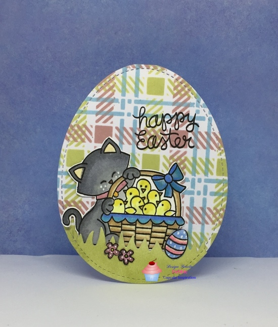 Happy Easter features Land Borders and Newton's Peeps by Newton's Nook Designs; #newtonsnook