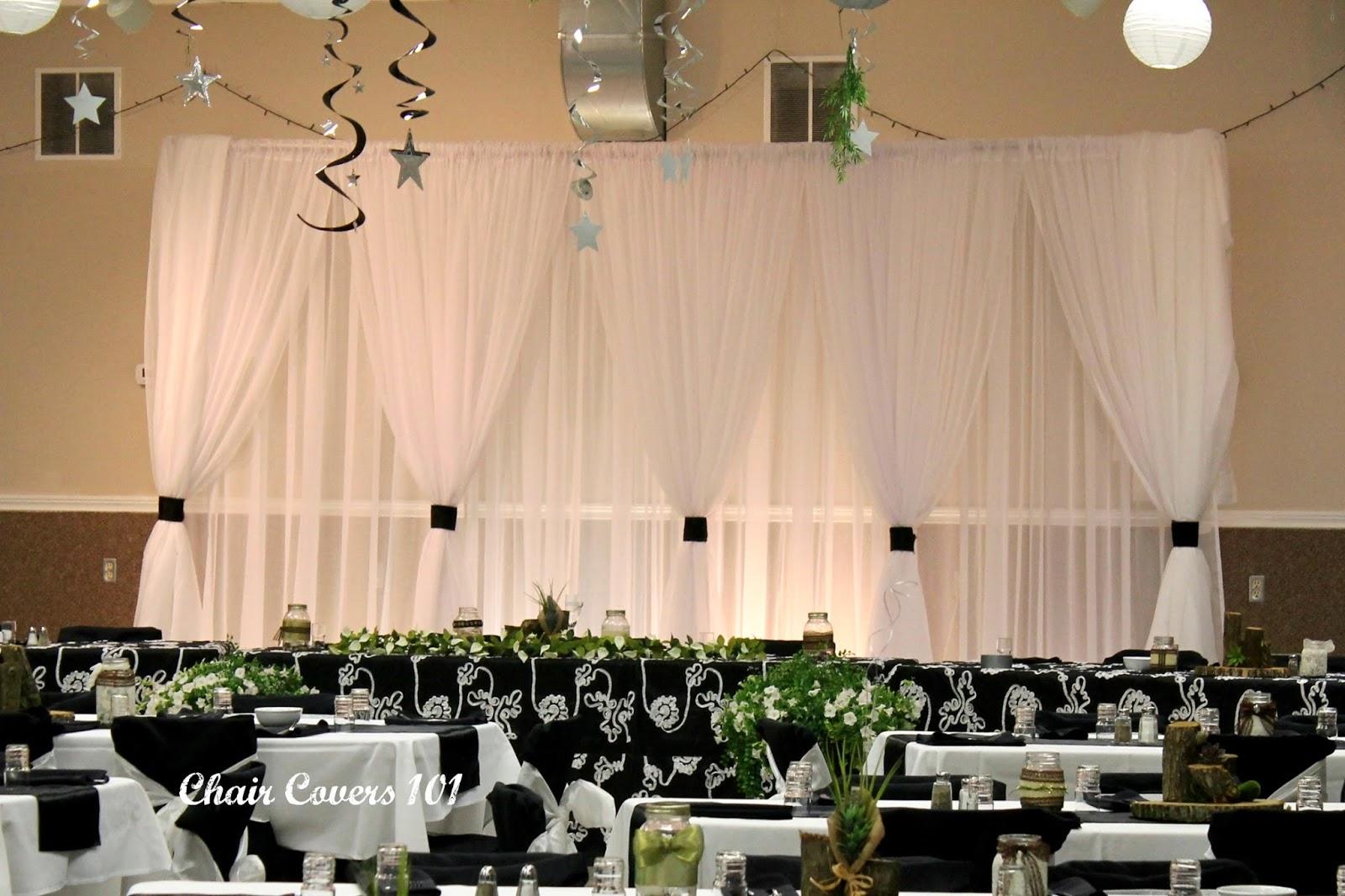 Diy Wedding Backdrops Amp Headtable