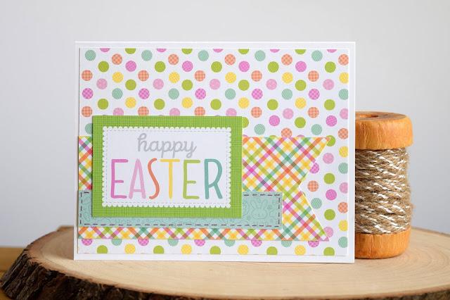 Easter Card by Jess Crafts using Doodlebug Easter Express