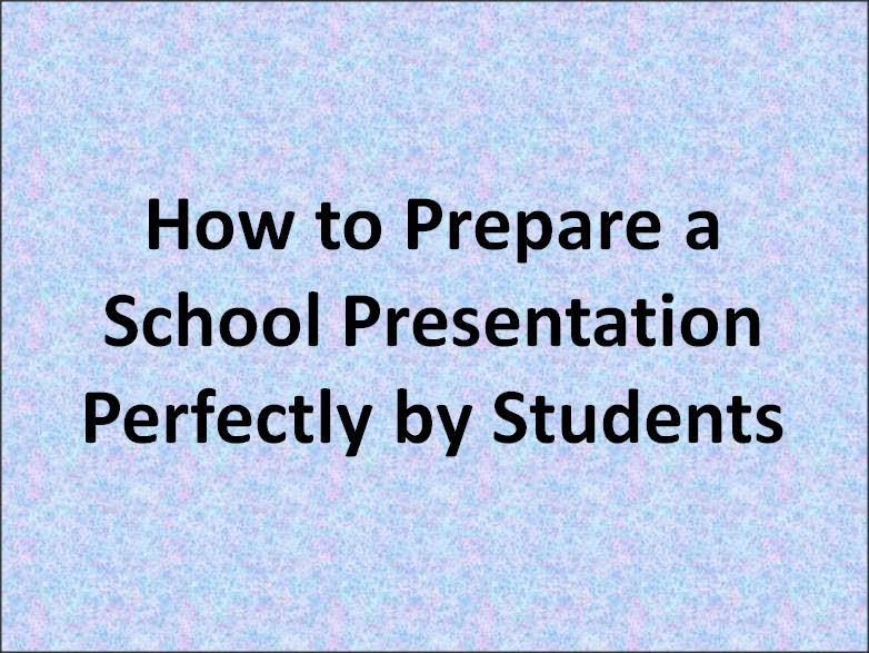 School Presentation Template Image