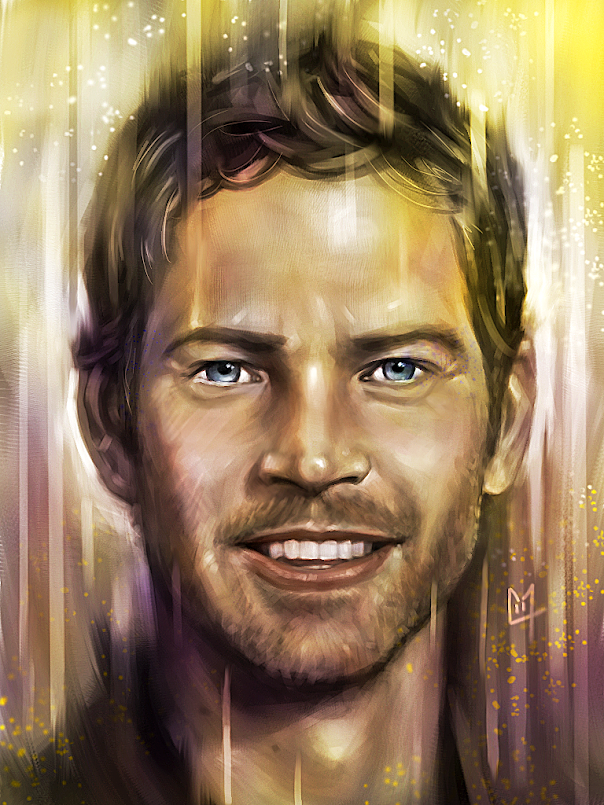 Paul Walker portrait