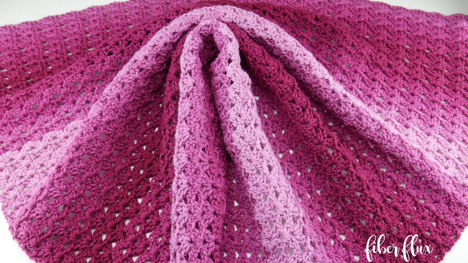 Fiber Flux: Free Crochet Pattern...Briar Rose Blanket!