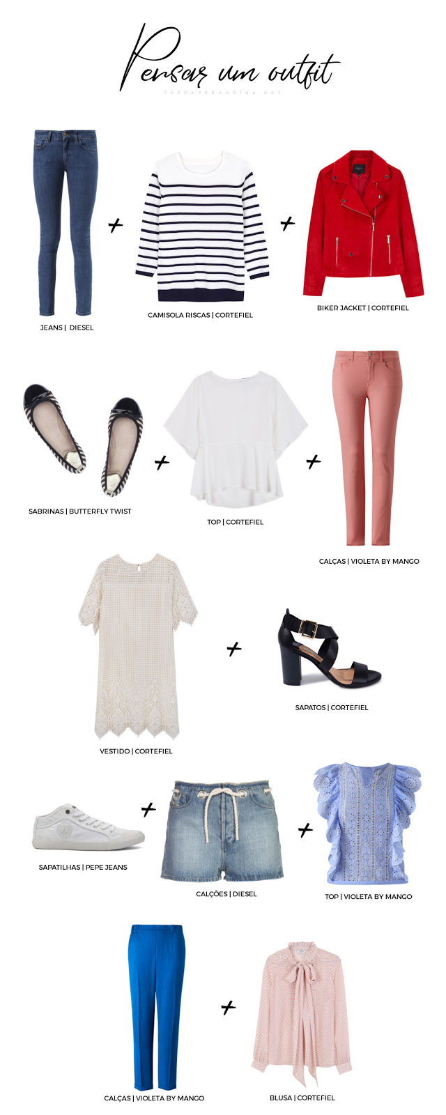 How to think and coordinate your outfit. Outfit formulas that are classic and spot on for fashion lovers.