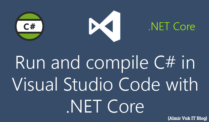 Run and compile c in visual studio code with net core Execute c code
