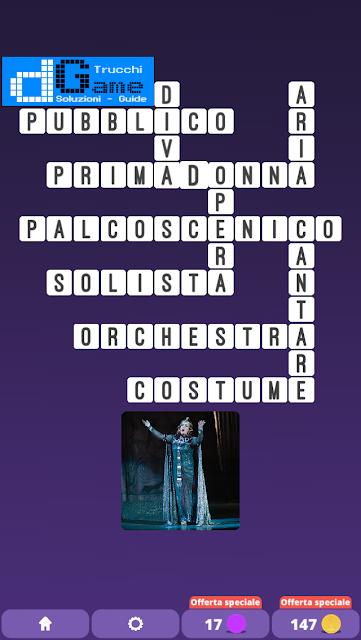 Soluzioni One Clue Crossword livello 25 schemi 7 (Cruciverba illustrato)  | Parole e foto