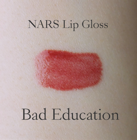 NARS Lip Gloss Bad Education swatch