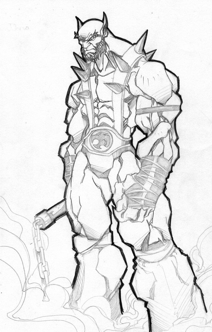 Thundercats Coloring Pages - Eskayalitim