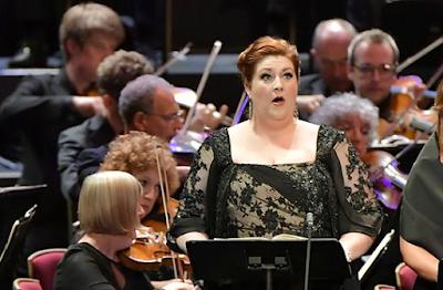 Tamara Wilson, Orchestra of the Age of Enlightenement - photo BBC Proms