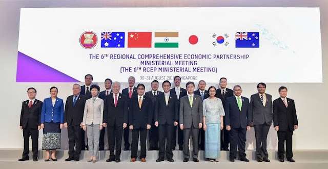 6th RCEP Inter-sessional Ministerial Meeting in Singapore