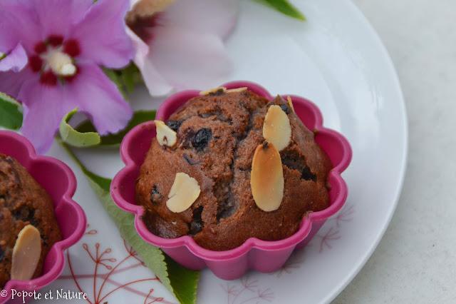 Mini cakes à la confiture de sureau et gingembre confit © Popote et Nature