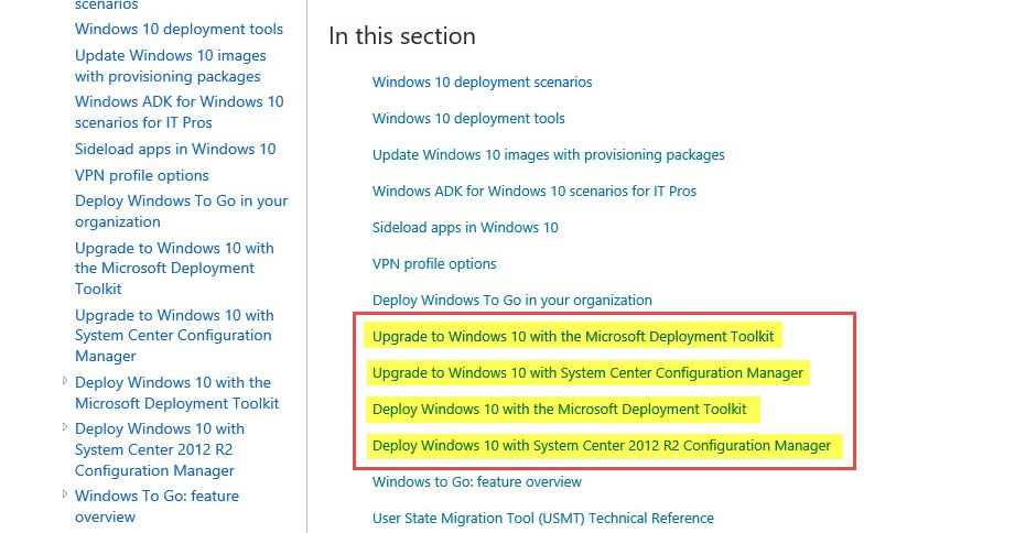 The Magic Between Data and the Users: Deploying Windows 10