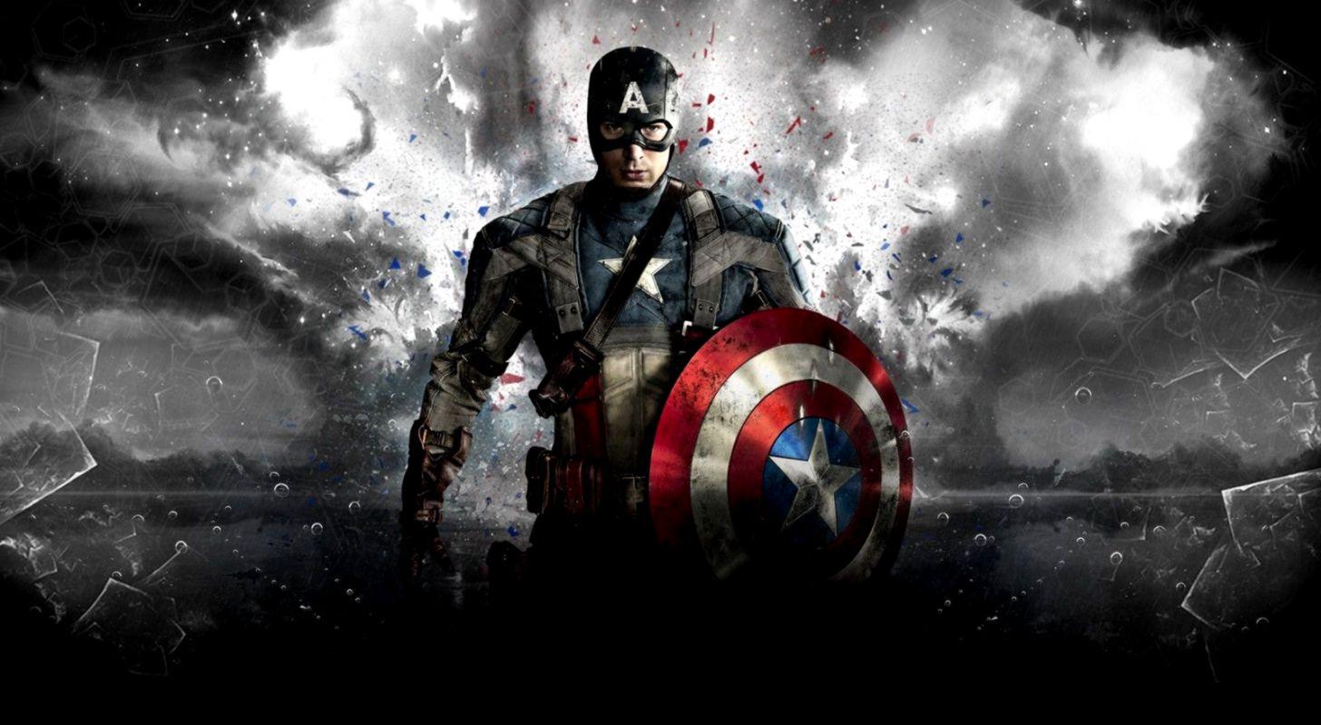 Captain America Wallpaper Desktop Wallpapers Plain