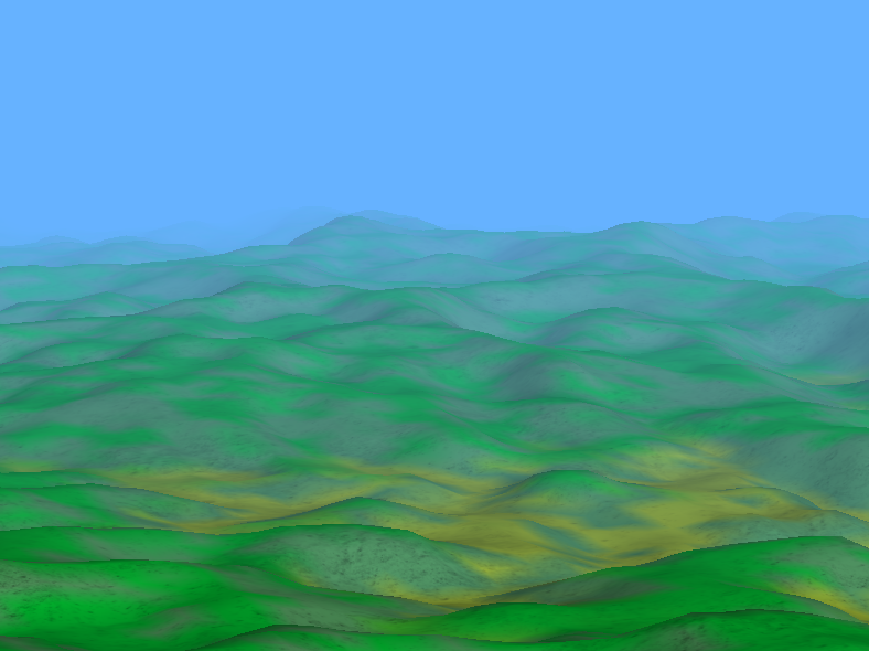 Shrimp Cave: OpenGL: Terrain Project First Finale