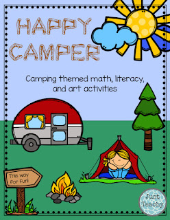 Happy Camper Teaching Unit, camping theme and activities