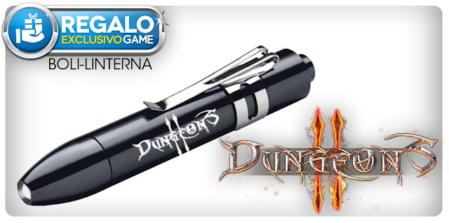 Dungeons II vendrá acompañado de un boli linterna en las tiendas GAME 1