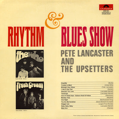 Pete Lancaster And The Upsetters - R&B Show  (1967)